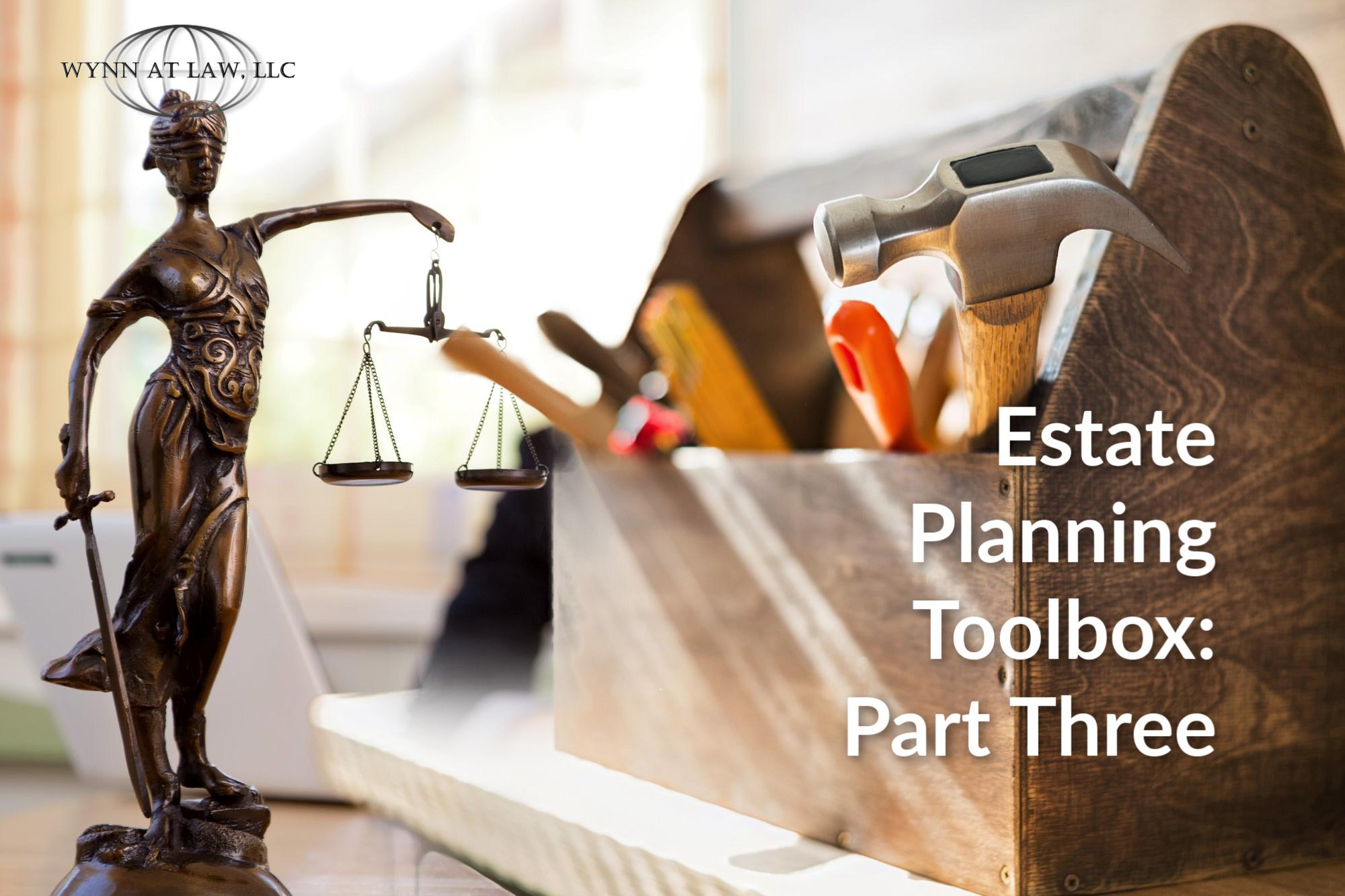 Estate planning toolbox