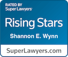 Rising Star Lawyer Shannon E. Wynn Rated by Super Lawyers