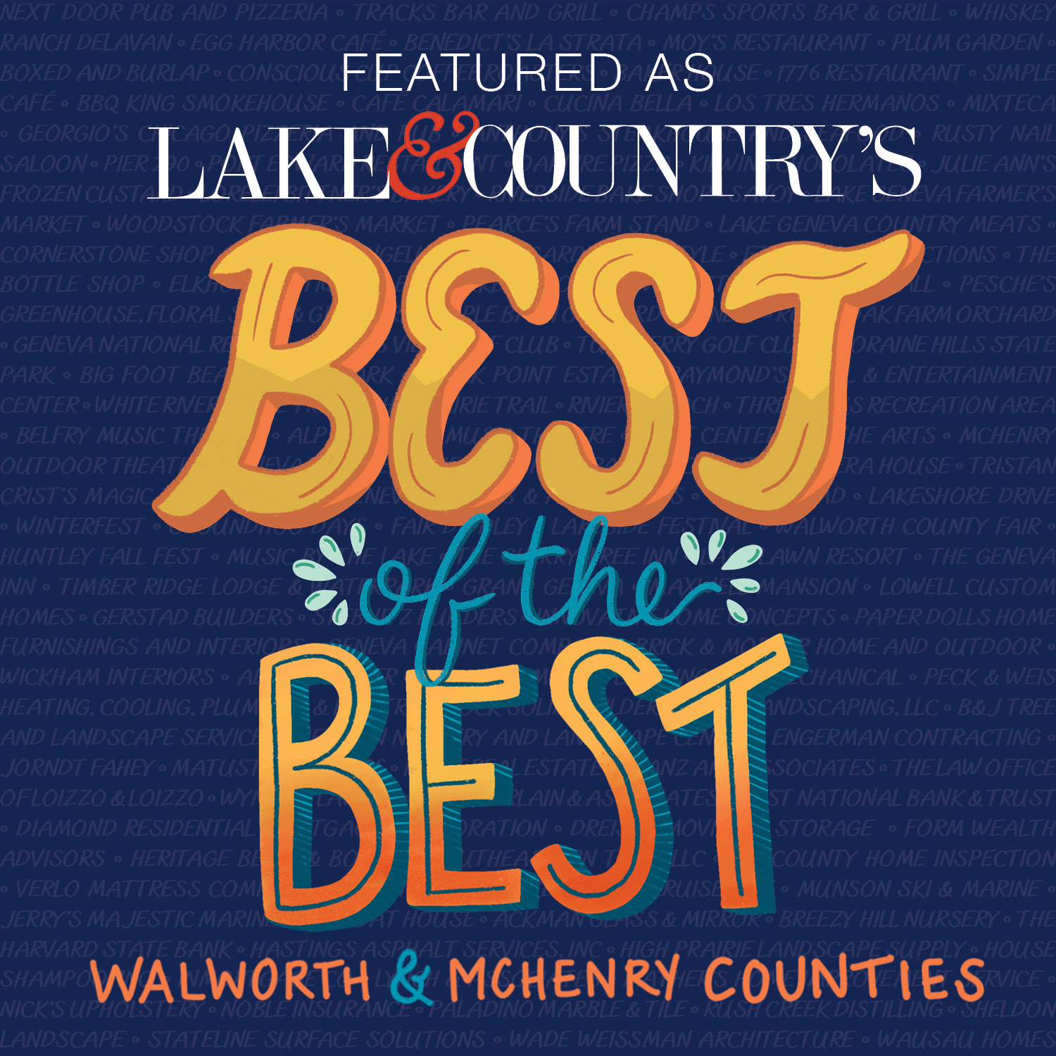 Best of The Best Walworth County Law Firm 2021 - Lake & Country